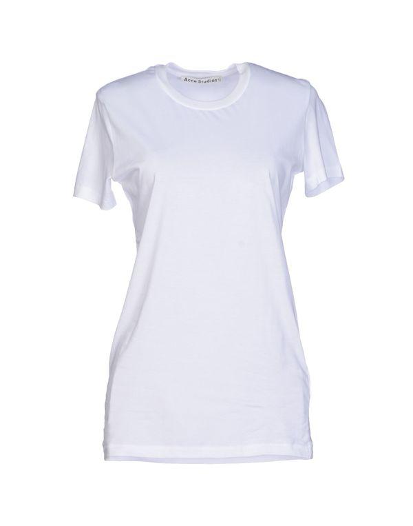 白色 ACNE STUDIOS T-shirt