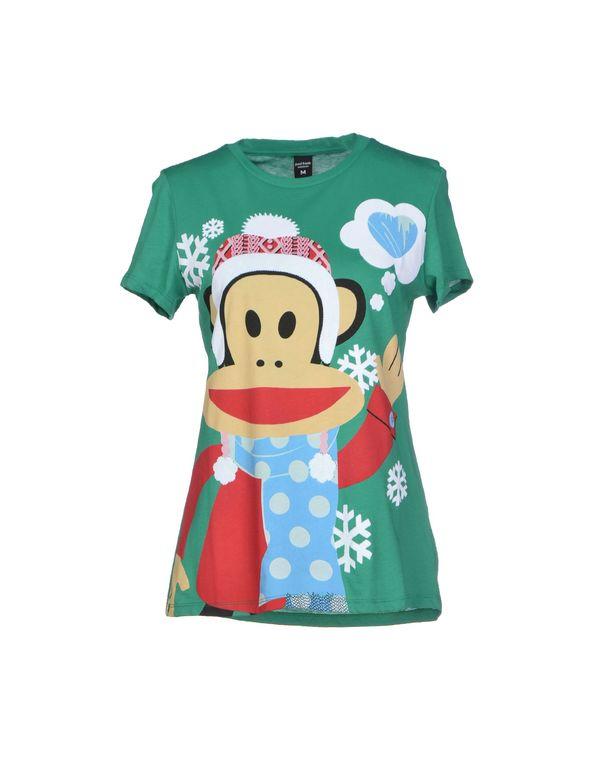 绿色 PAUL FRANK T-shirt