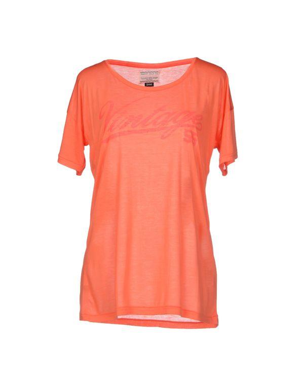 珊瑚红 VINTAGE 55 T-shirt
