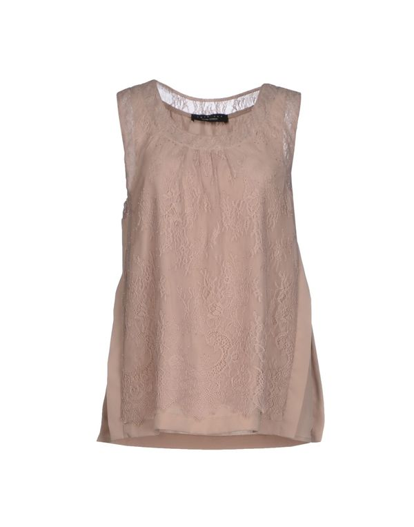 沙色 TWIN-SET SIMONA BARBIERI T-shirt
