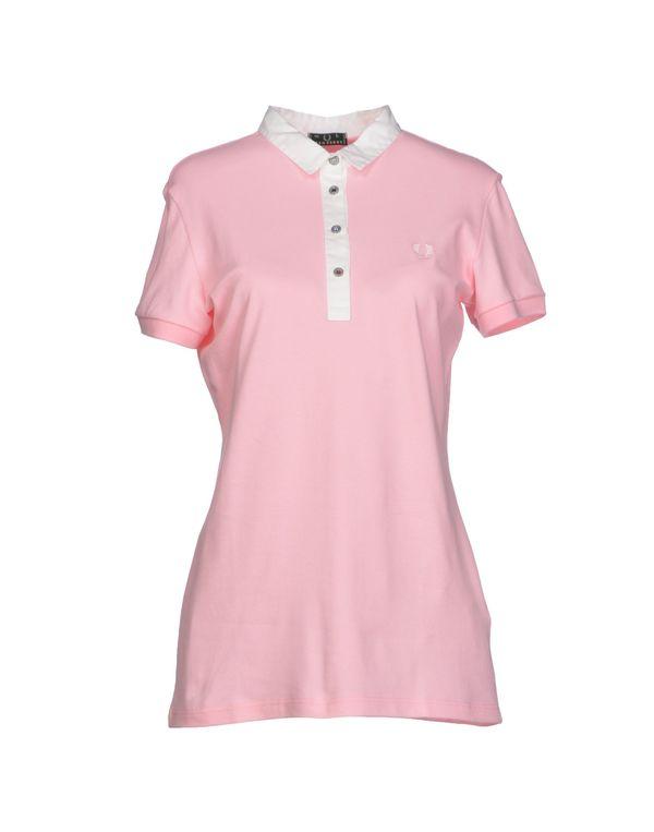 粉红色 FRED PERRY Polo衫
