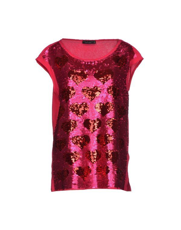 玫红色 TWIN-SET SIMONA BARBIERI T-shirt