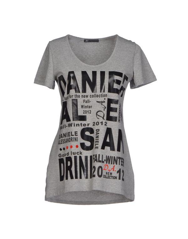 灰色 D.A. DANIELE ALESSANDRINI T-shirt