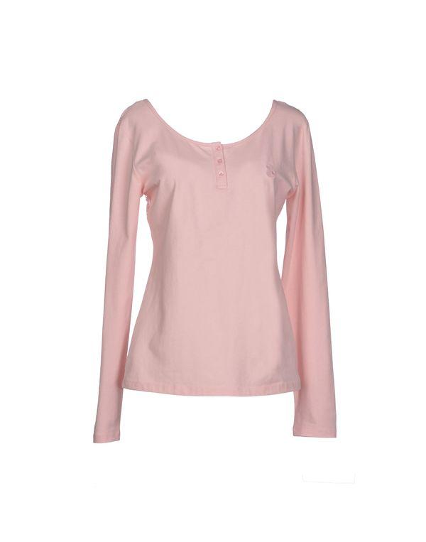粉红色 DUCK FARM T-shirt