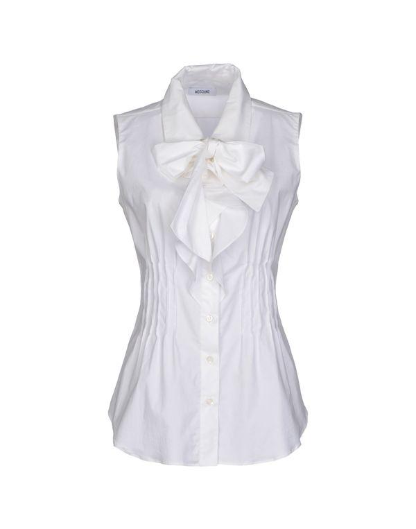 白色 MOSCHINO Shirt