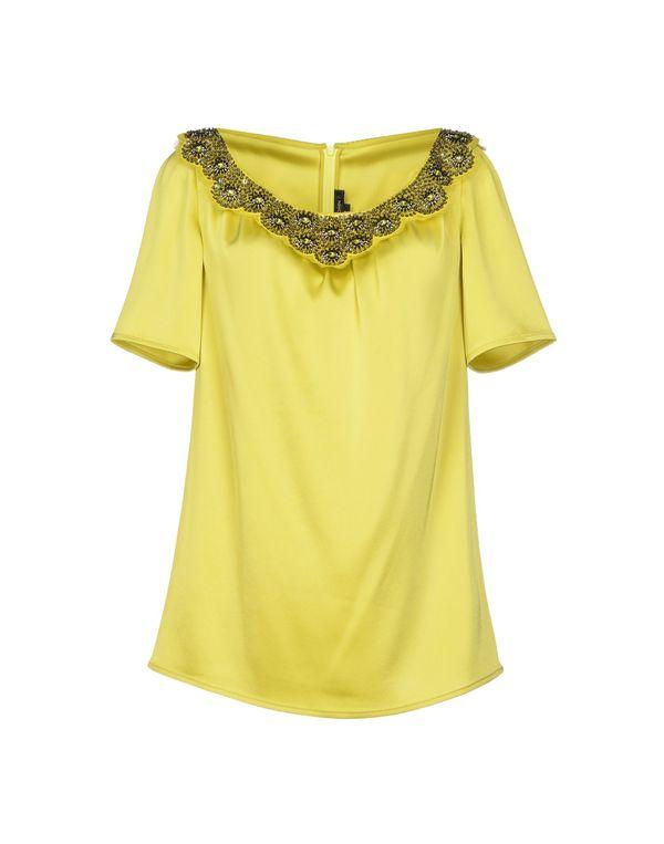 荧光绿 ST. JOHN 女士衬衫