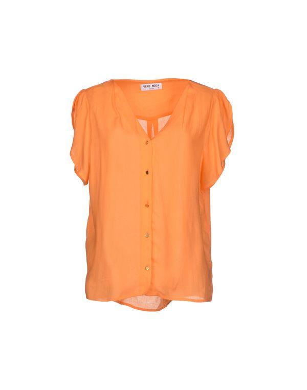 橙色 VERO MODA Shirt