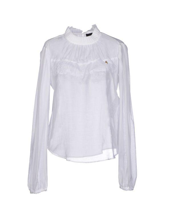 白色 ELISABETTA FRANCHI 女士衬衫