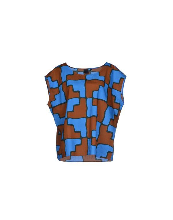 中蓝 ASPESI 女士衬衫