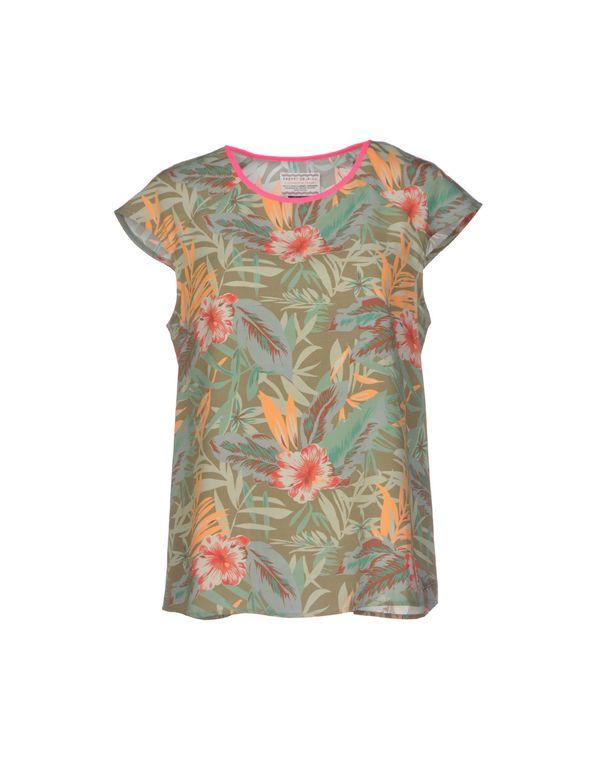 军绿色 VINTAGE 55 女士衬衫