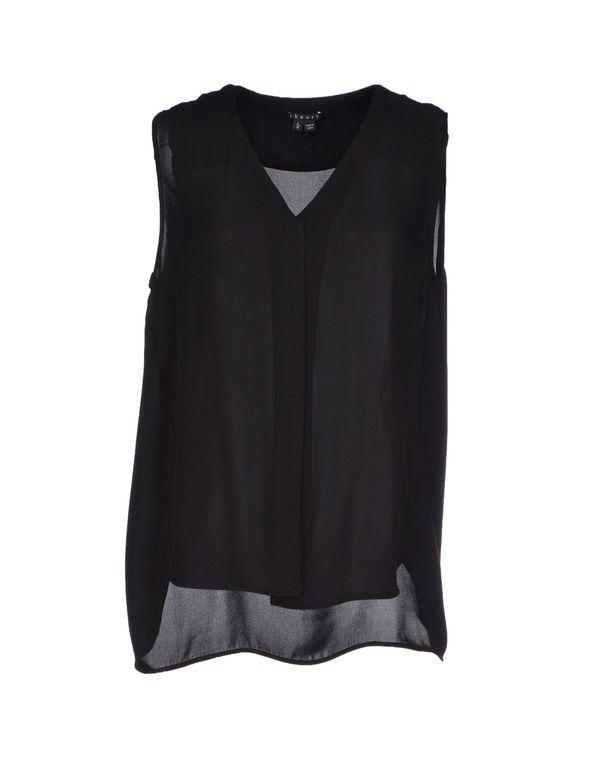 黑色 THEORY Shirt