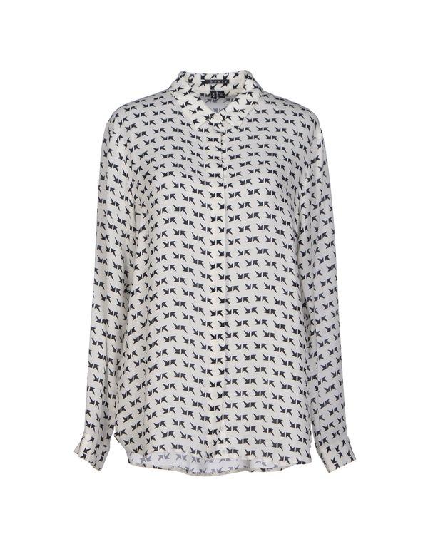 白色 THEORY Shirt