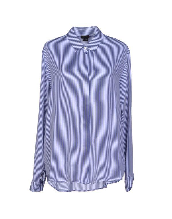 蓝色 THEORY Shirt