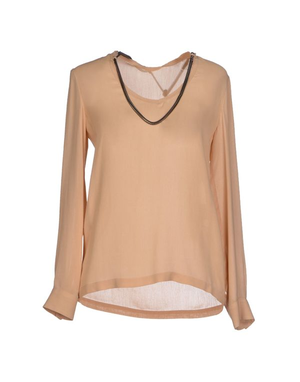 沙色 GOLD CASE 女士衬衫