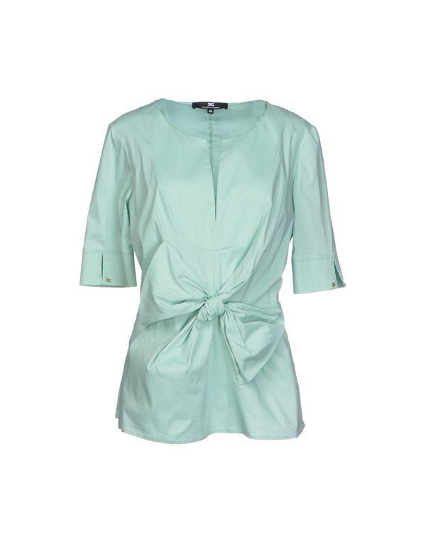浅绿色 ELISABETTA FRANCHI 24 ORE 女士衬衫