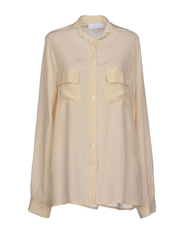米色 KAOS Shirt