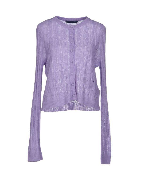 丁香紫 RALPH LAUREN 针织开衫