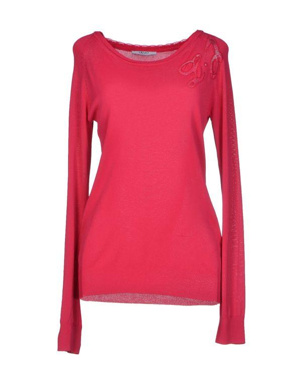玫红色 LIU •JO JEANS 套衫