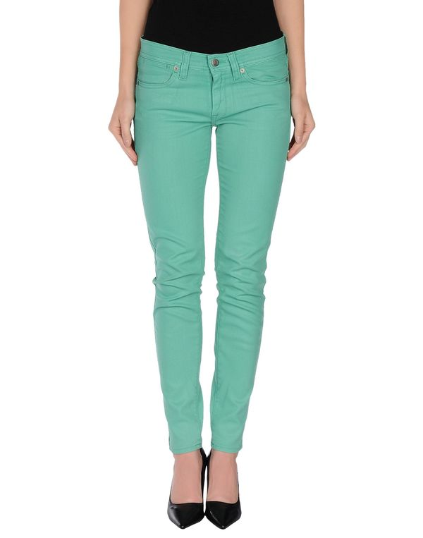 浅绿色 RALPH LAUREN 牛仔裤