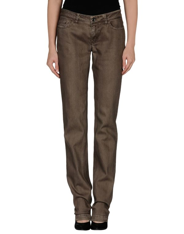 深棕色 DOLCE & GABBANA 牛仔裤