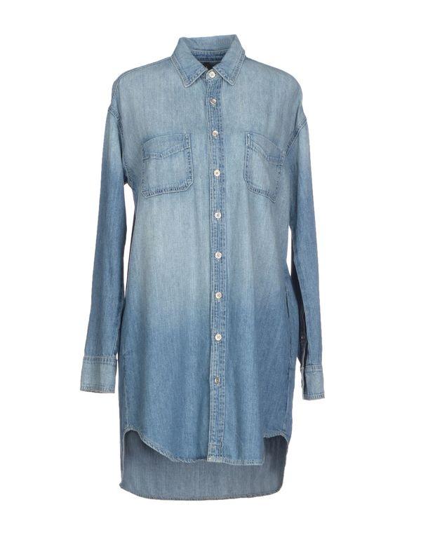 蓝色 J BRAND 牛仔衬衫