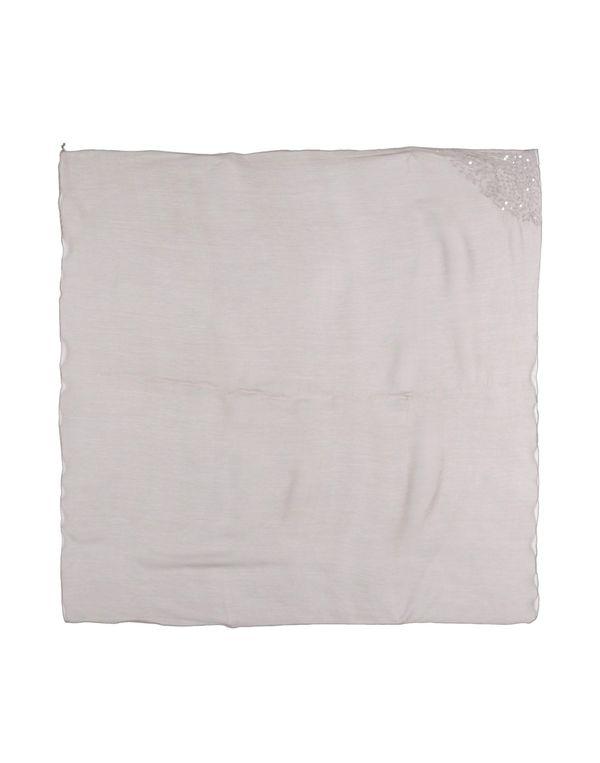 灰色 JUST FOR YOU 方巾