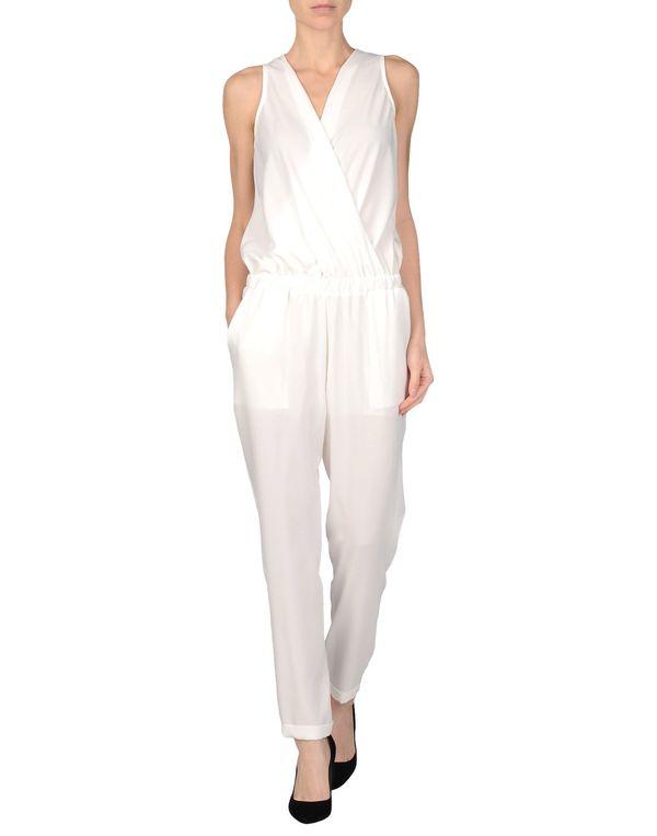 白色 KAOS 连身长裤
