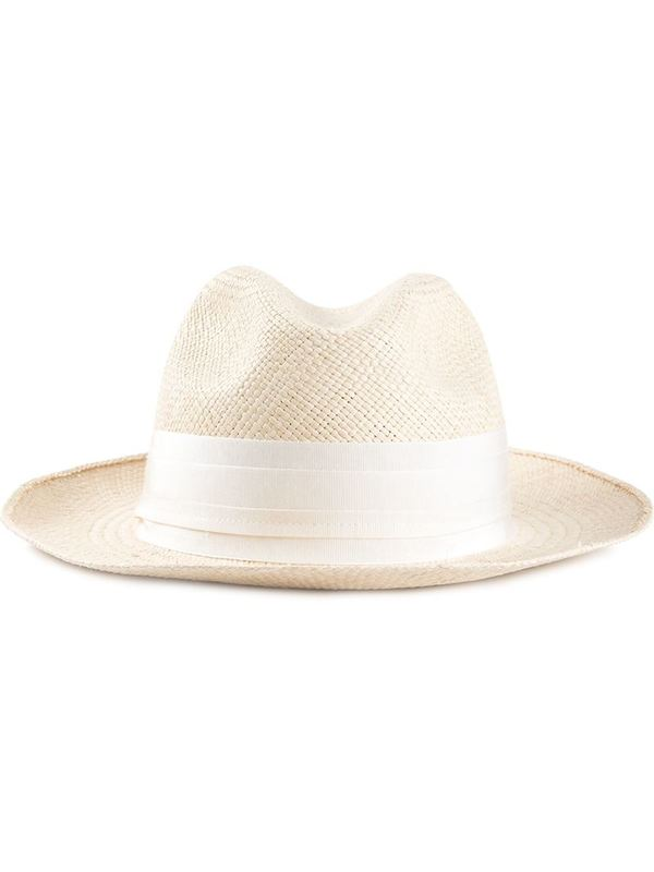 LANVIN fedora hat