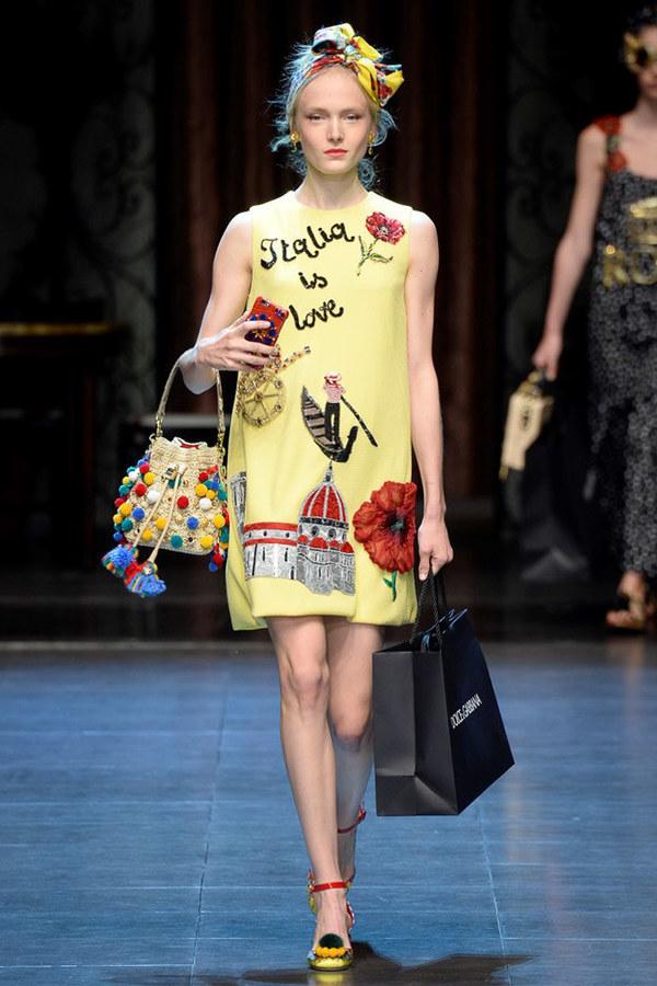 Dolce&Gabbana2016春夏时装秀