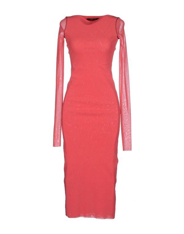 浅紫色 TWIN-SET JEANS 中长款连衣裙