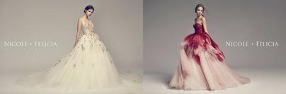 时代新女性的独一浪漫态度:NICOLE   FELICIA 2018春夏婚纱系列