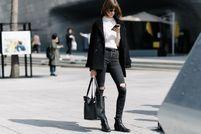 春夏穿什么鞋?今年最流行万能的小黑靴