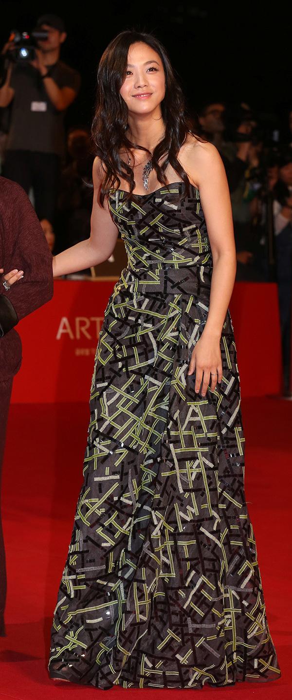 Giorgio Armani 赞助汤唯, 阮经天, 张孝全服装出席第十八届釜山国际电影节
