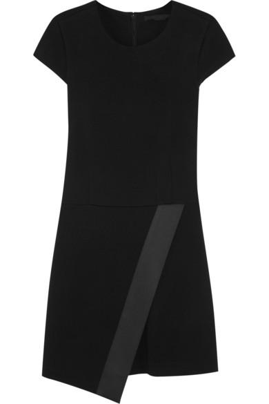Nadya 缎边弹力针织连衣裙