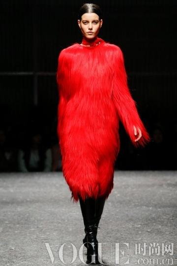 2014秋冬色彩要素:红色风潮