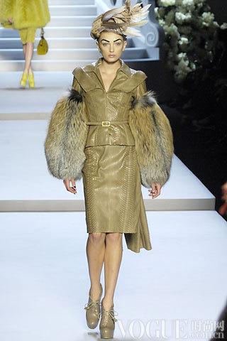 Dior2007秋冬时装秀