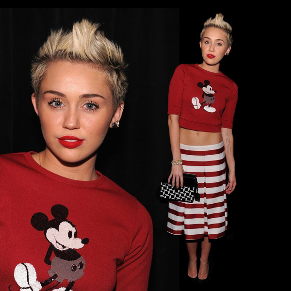 Miley Cyrus造型