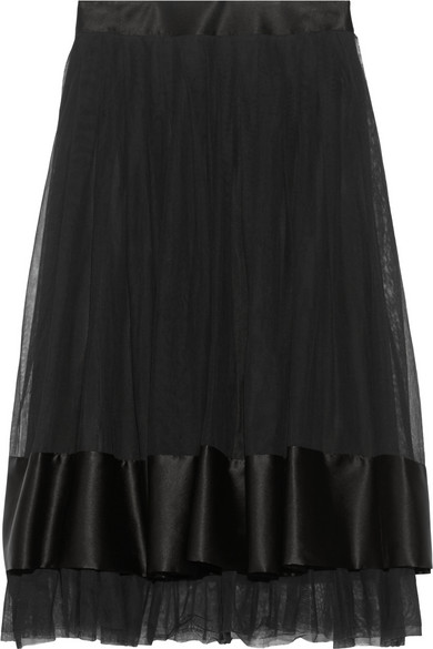 Galerie Vivienne 缎边网布衬裙