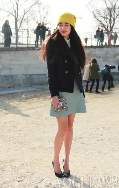 巴黎时装周街拍日记Day5