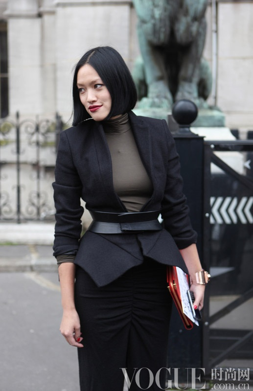 巴黎时装周街拍日记Day1