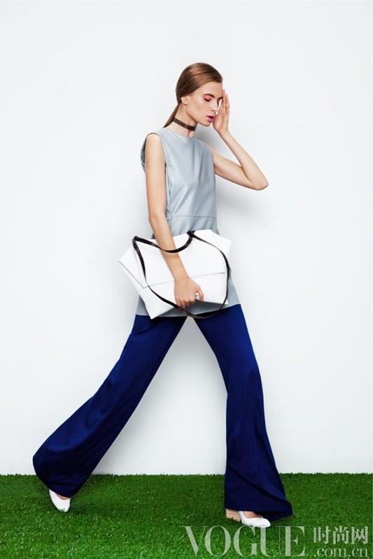 "2013春夏lookbook ""Dunaway""裤型复兴"