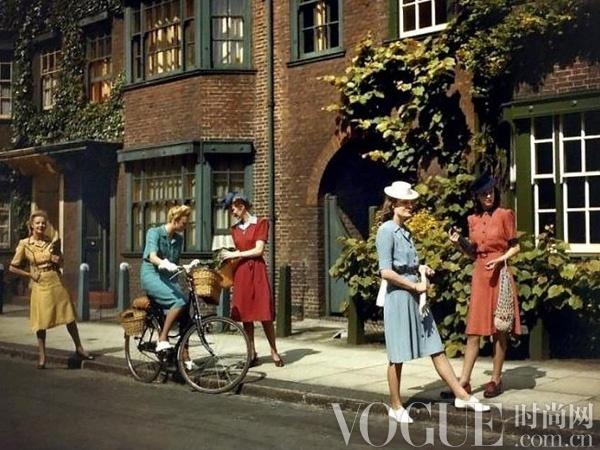 战争与时装,40年代浴火重生的时尚