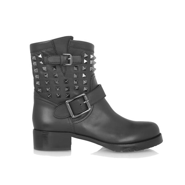 机车靴新品推荐:Valentino