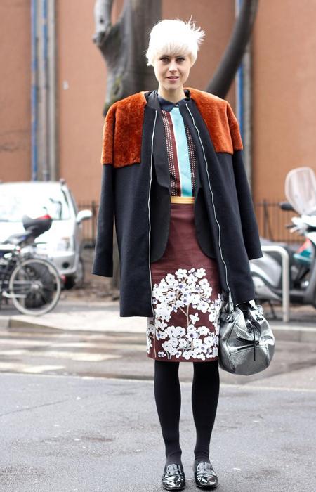 100张经典街拍让你了解全球最会穿衣的10位Icon