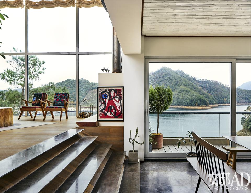 """在千岛湖造一个会""""呼吸""""的家"""