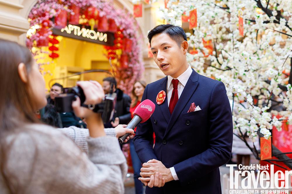 """悅游""""中國新100""""影展在莫斯科古姆中央百貨商場盛大舉辦"""