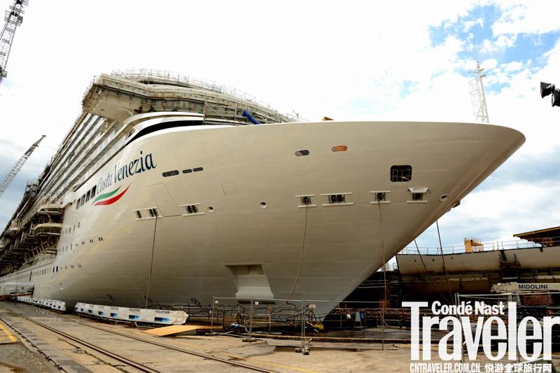 歌詩達·威尼斯號正式舉行浮水儀式