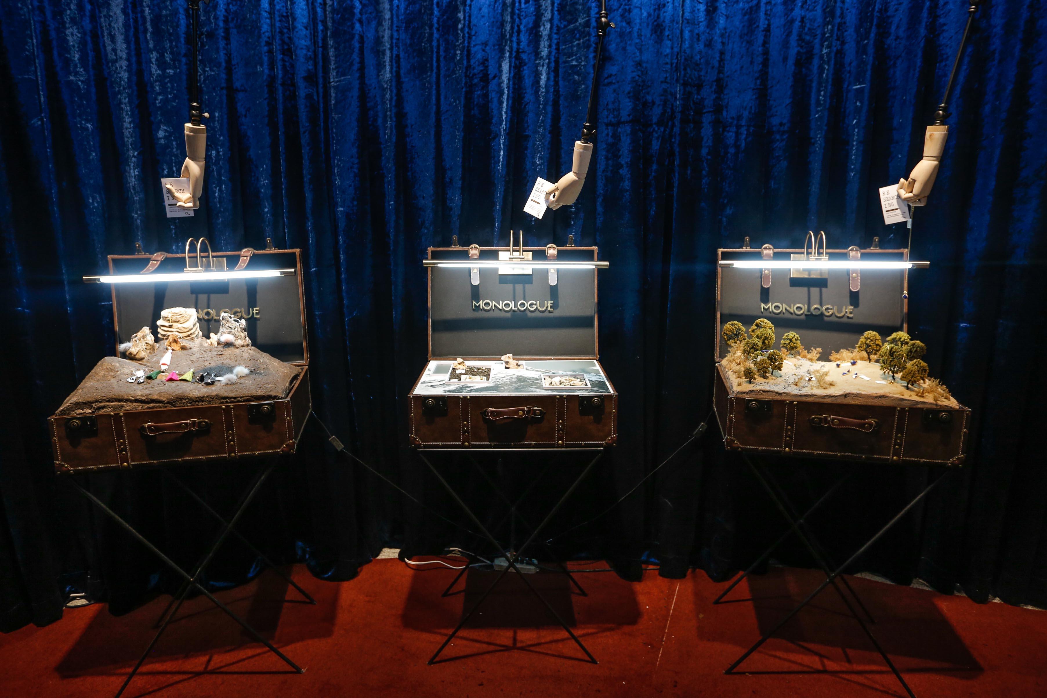 MONOLOGUE独白潮搭珠宝巡展 复古神秘与个性潮流的融合