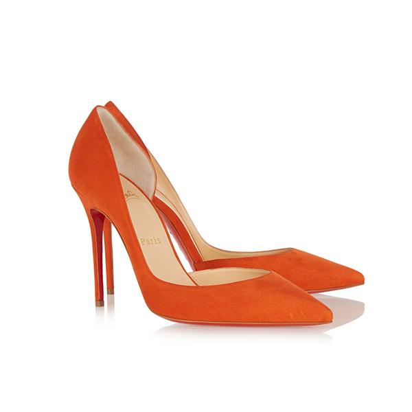 8c928020074d1b Christian Louboutin Iriza Suede High Heels