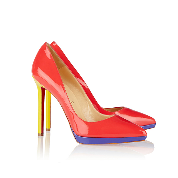 6212b02a9c32 Christian Louboutin Pigalle Multicolor High Heels